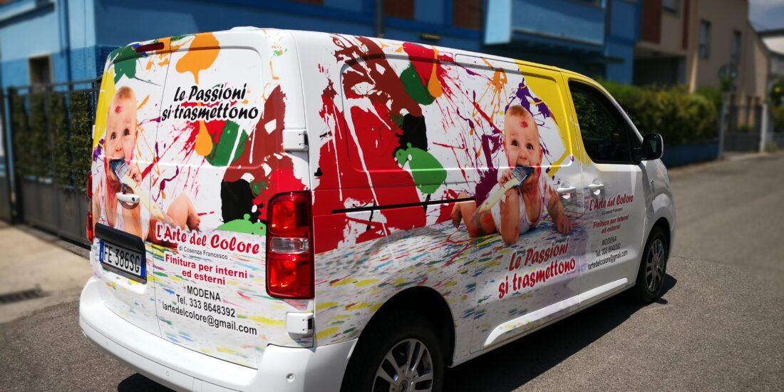 Personalizzazione car wrapping Modena